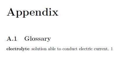 sectioning - Glossary as appendix - TeX - LaTeX Stack Exchange